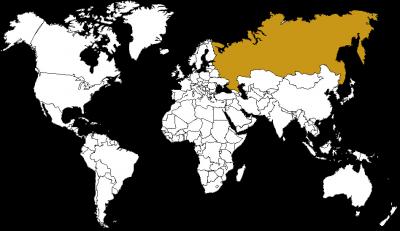 CdT - Planisphère - Russie