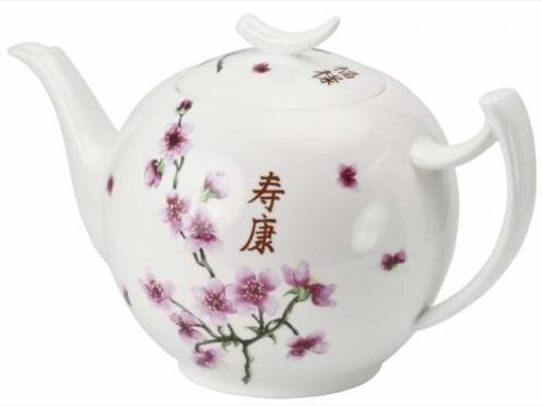 Théière Porcelaine Cha Yuan Apostrophe