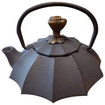 Théière fonte Comptoirs Richard Origami grise